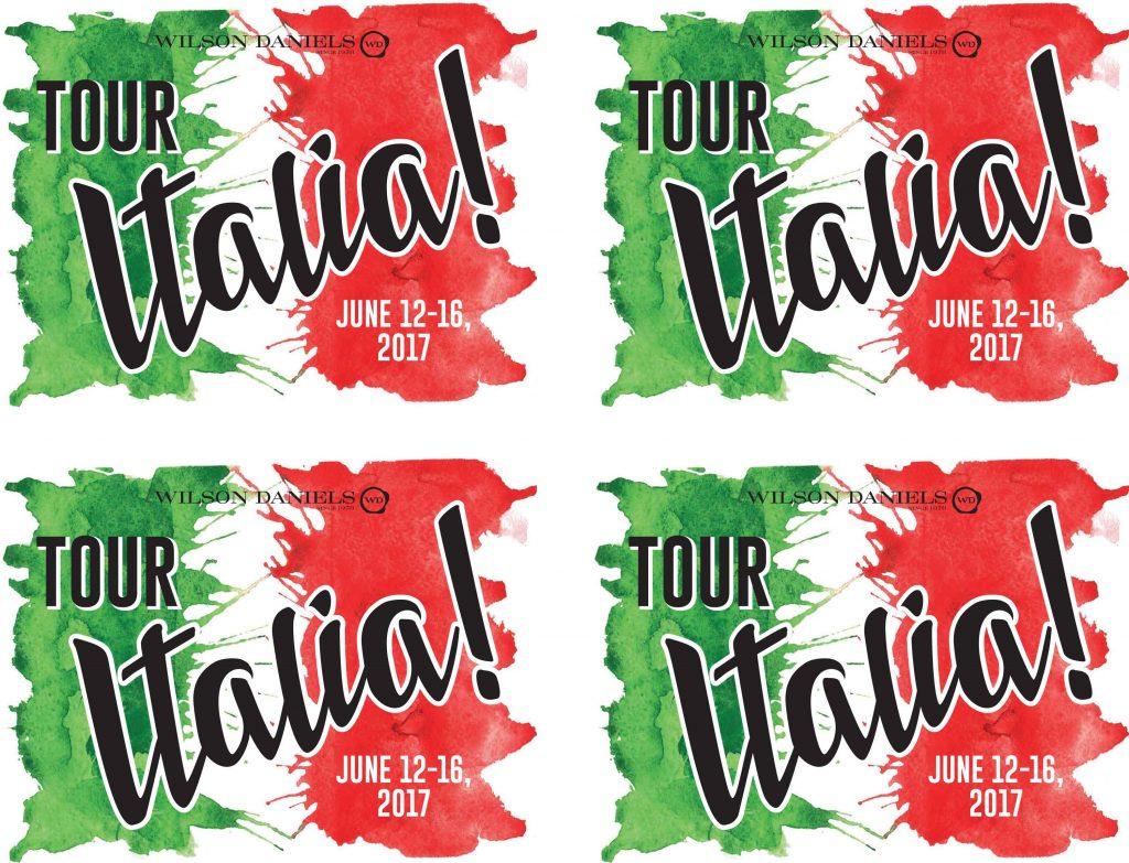 Tour Italia 2017!