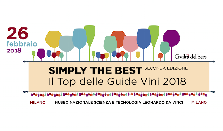 Simply the Best – Top delle guide vini 2018