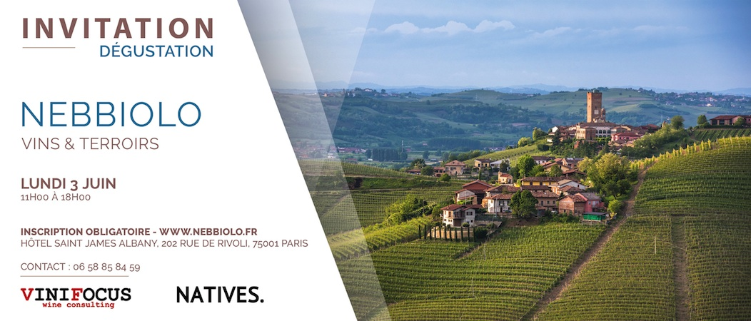Nebbiolo Vins et Terroir @Paris