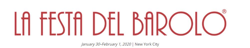 Festa del Barolo 2020