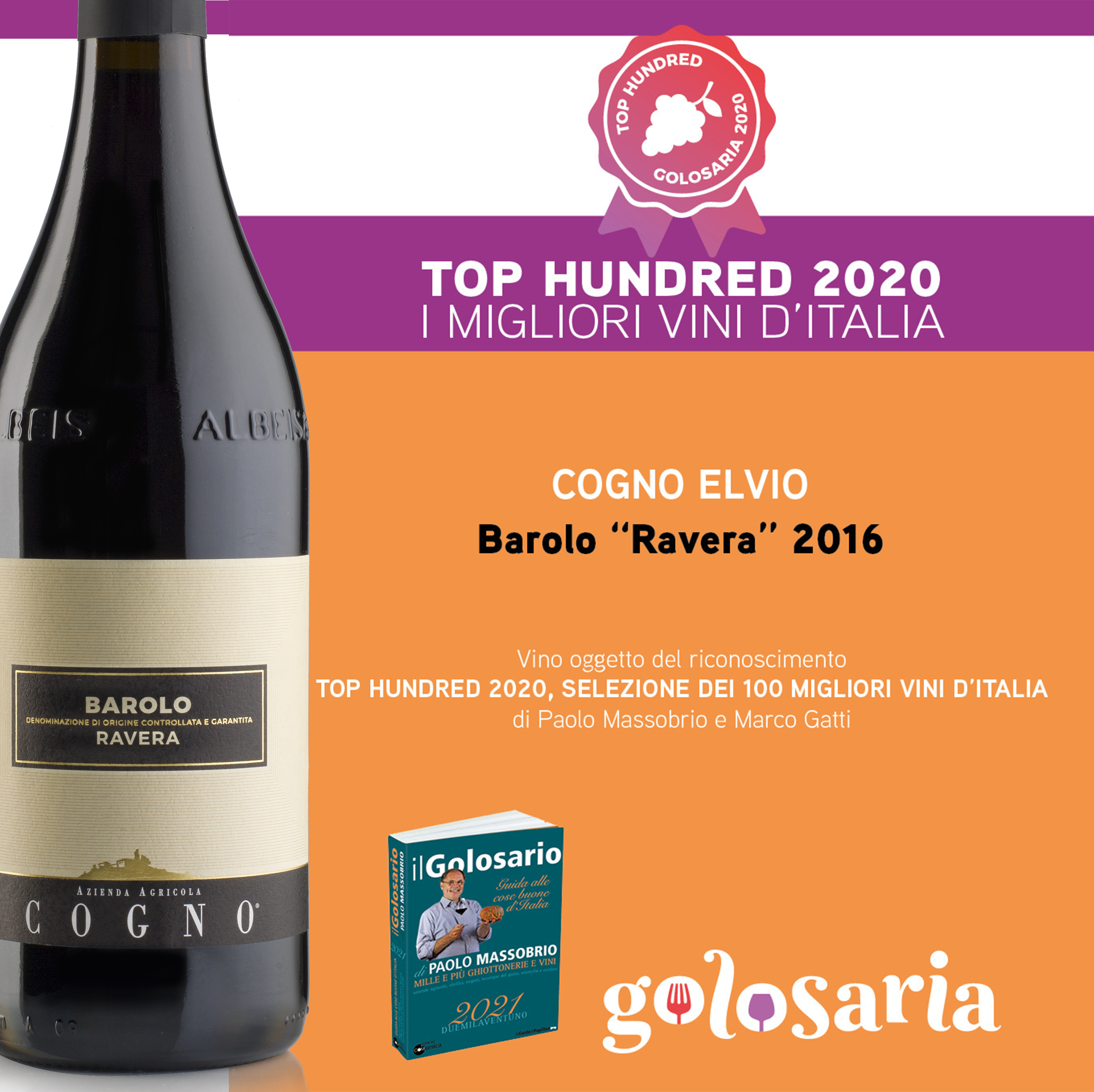 Il Golosario – TOP HUNDRED 2020 – I migliori Vini d'Italia