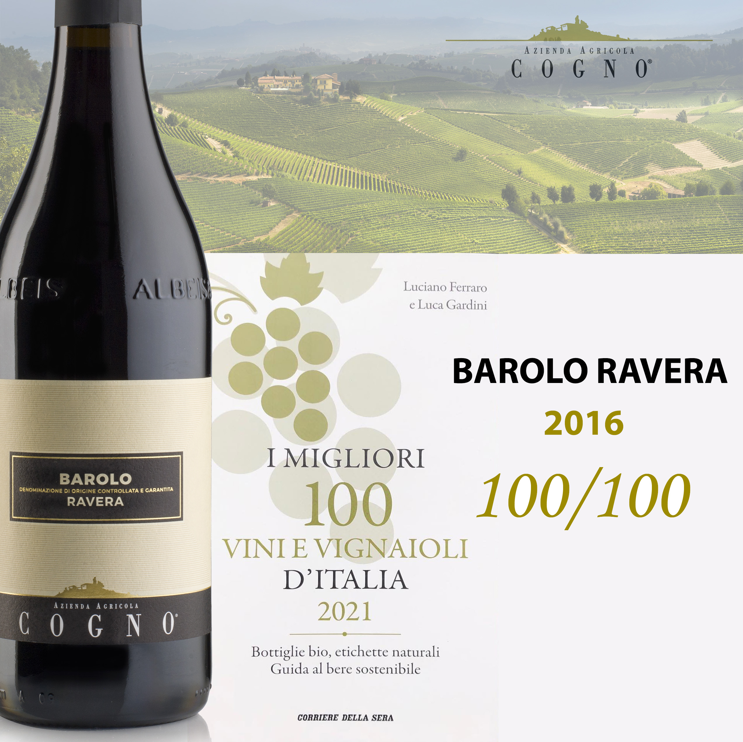 The best 100 wines and winemaker for Corriere della Sera