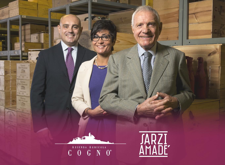 Elvio Cogno and Sarzi Amadé italian distributor