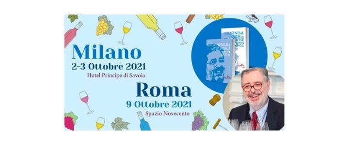 Guida Essenziale ai Vini d'Italia 2022: Elvio Cogno wines will be presented in Milan and Rome